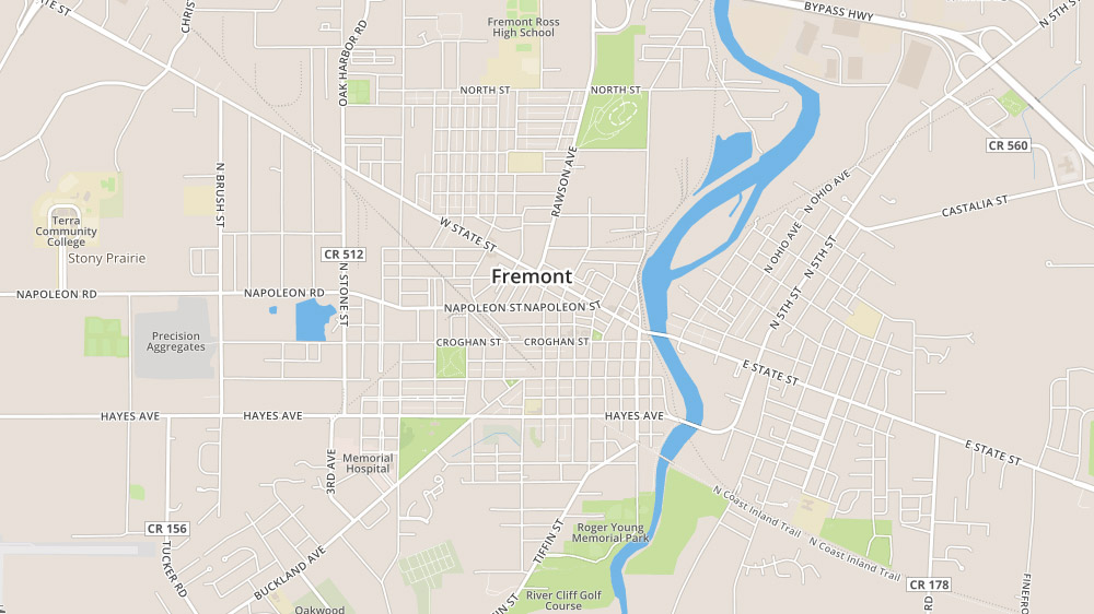 homes for sale in fremont, ohio