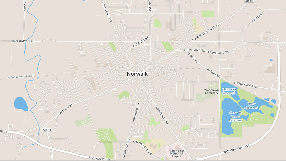 homes for sale in norwalk ohio