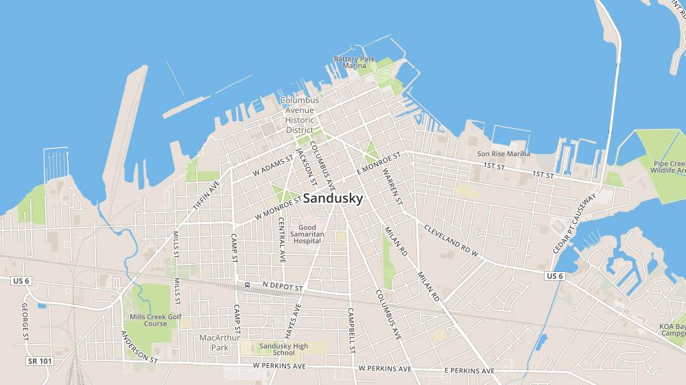 sandusky homes for sale